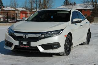 Used 2016 Honda Civic Touring NAVI | Leather | Sunroof | CERTIFIED for sale in Waterloo, ON