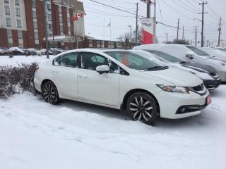 Used 2015 Honda Civic Touring Bluetooth, Back Up Camera, Navigation, and More! for sale in Waterloo, ON