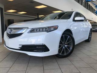 Used 2015 Acura TLX SH-AWD V6 Tech GPS Cuir Toit ouvrant for sale in Pointe-Aux-Trembles, QC