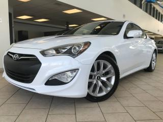 Used 2016 Hyundai Genesis Coupe GT 3.8L V6 GPS Cuir Toit for sale in Pointe-Aux-Trembles, QC