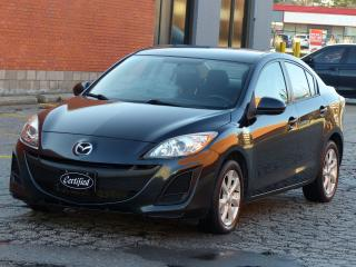 Used 2011 Mazda MAZDA3 ONE-OWNER, NO-ACCIDENT, ALLOY WHEELS,BLUETOOTH, AC for sale in Mississauga, ON