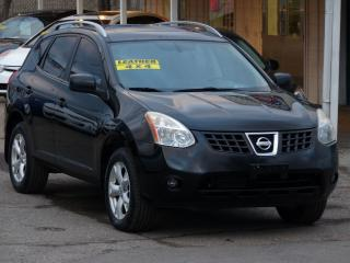 Used 2008 Nissan Rogue SL,AWD,LEATHER,*NO-ACCIDENT* ,SUNROOF, ALLOYS,2.5 for sale in Mississauga, ON