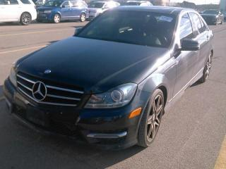 Used 2014 Mercedes-Benz C-Class C 350 4MATIC-NAVI-PANO-CAM-BLINDSPOT-HID LIGHTS-BT for sale in Mississauga, ON