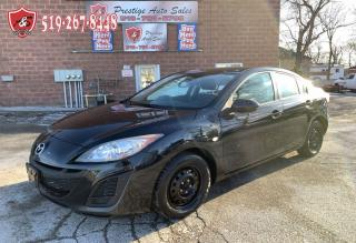 Used 2010 Mazda MAZDA3 2.0L/ONE OWNER/NO ACCIDENT/CERTIFIED/WARRANTY INCL for sale in Cambridge, ON