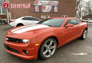 Used 2010 Chevrolet Camaro REDUCED PRICE/2SS/V8/6.2L/CERTIFIED for sale in Cambridge, ON