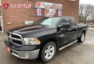 Used 2014 RAM 1500 SLT//ECODIESEL/4X4/QUAD CAB/NO ACCIDENT/WARRANTY for sale in Cambridge, ON
