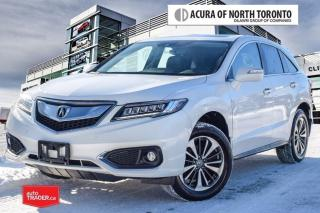 Used 2017 Acura RDX Elite at 7yrs Warranty| No Accident| for sale in Thornhill, ON