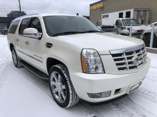 Used 2008 Cadillac Escalade ESV AWD I BACK-UP CAMERA I NO ACCIDENT for sale in Toronto, ON
