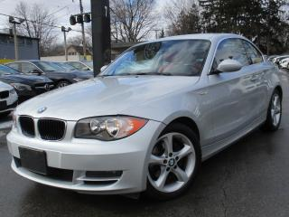 Used 2009 BMW 128I 128I ~ AUTOMATIC ~ RED INTERIOR  ~ LOW KMS !!! for sale in Burlington, ON