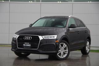 Used 2016 Audi Q3 2.0T Technik quattro 6sp Tiptronic *S-Line*Low Kms* for sale in Vancouver, BC