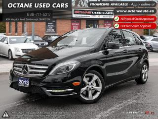Used 2013 Mercedes-Benz B-Class Sports Tourer ACCIDENT FREE! ONE OWNER! ONTARIO VEHICLE! for sale in Scarborough, ON