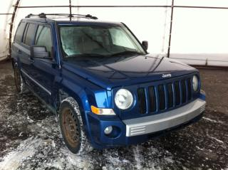 Used 2010 Jeep Patriot Limited 4X4, SUNROOF, LEATHER HEATED SEAT, HANDSFREE BLUETOOTH, REMOTE STARTER for sale in Ottawa, ON