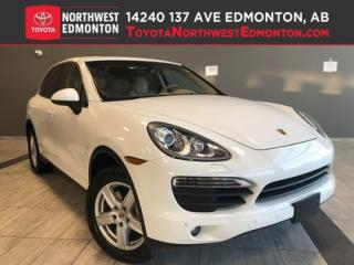 Used 2013 Porsche Cayenne S | Leather | Luxury | Tailored Suspension for sale in Edmonton, AB