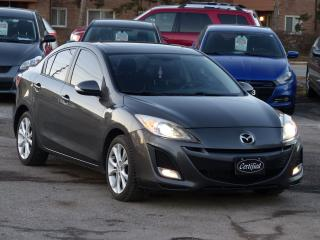 Used 2010 Mazda MAZDA3 GT , LEATHER,ONE-OWNER,NO-ACCIDENT,ALLOYS,FOGLIGHT for sale in Mississauga, ON