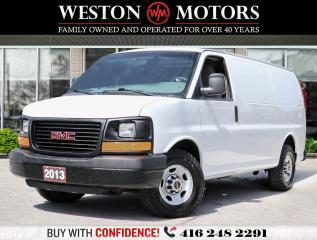 Used 2013 GMC Savana 2500 4.8L*SHELVING*REAR GLASS DOOR!!* for sale in Toronto, ON