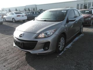 Used 2012 Mazda MAZDA3 GS-SKYACTIV , LEATHER,SUNROOF,FOGLIGHT, HEATD SEAT for sale in Mississauga, ON