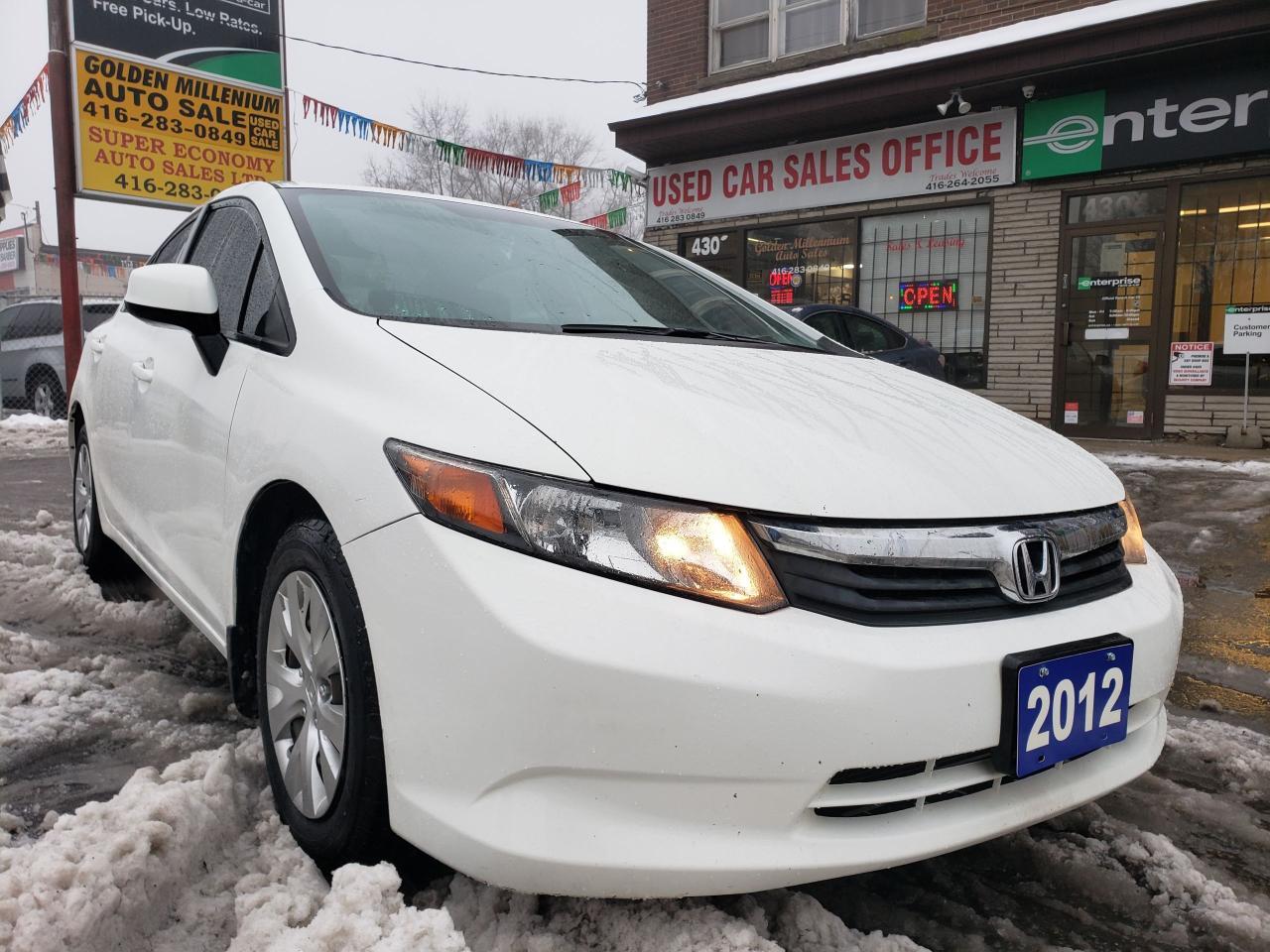 Used 2012 Honda Civic Lx 160k Mint Condition Econ Gas Saver