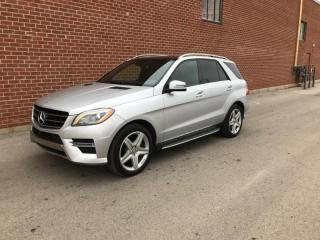 Used 2015 Mercedes-Benz ML-Class 4MATIC 4dr ML350 BlueTEC for sale in Mississauga, ON