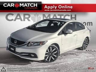 Used 2013 Honda Civic TOURING / NAV / ROOF / LEATHER for sale in Cambridge, ON