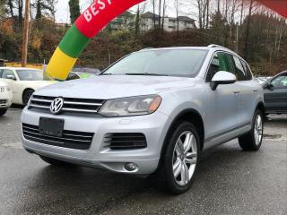 Used 2014 Volkswagen Touareg EXECLINE for sale in Coquitlam, BC