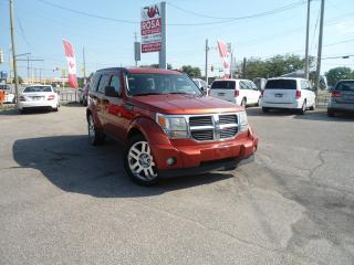 Used 2008 Dodge Nitro 4WD AUTO PW PL PM SAFETY NO ACCIDENT A/C for sale in Oakville, ON