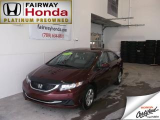 Used 2015 Honda Civic LX for sale in Halifax, NS
