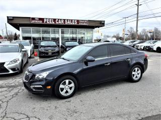Used 2016 Chevrolet Cruze 2LT|LEATHER|SUNROOF|REARVIEW| for sale in Mississauga, ON
