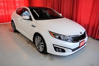 Used 2015 Kia Optima SX Turbo | Sunroof | Nav | + Snow Tires & Rims for sale in Listowel, ON