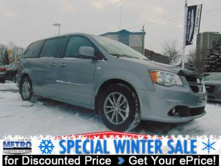 Used 2014 Dodge Grand Caravan SXT - 30th Anniversary Edition for sale in Ottawa, ON