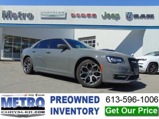Used 2018 Chrysler 300 S - Fully Loaded & Mint for sale in Ottawa, ON