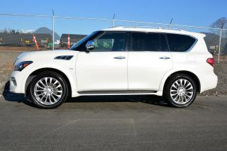 Used 2016 Infiniti QX80 2016 Infiniti QX80 - 4WD 4dr 7-Passenger for sale in Vancouver, BC
