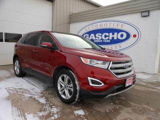 Used 2018 Ford Edge Titanium NAVI PUSH START REAR CAM AWD for sale in Kitchener, ON