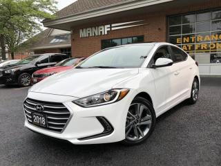 Used 2018 Hyundai Elantra GLS Sunroof Heated Seats R-Cam Alloys Certified* for sale in Concord, ON