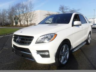 Used 2015 Mercedes- Ml400 4matic SPORT 4-DR 4WD/AWD for sale in Burnaby, BC