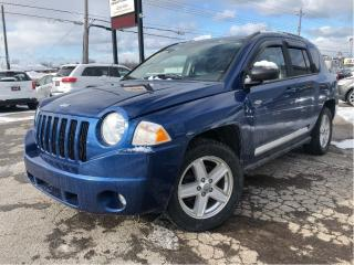 Used 2010 Jeep Compass Sport/North 4WD NICE LOCAL TRADE IN!!! for sale in St Catharines, ON