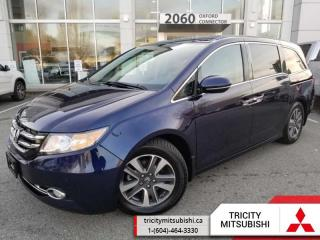 Used 2017 Honda Odyssey Touring  NAVI-LEATHER-SUNROOF for sale in Port Coquitlam, BC