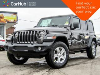 New 2019 Jeep Wrangler Unlimited New Car Sport S|4x4|Dual Top|Backup Cam|Bluetooth|Blind Spot|17