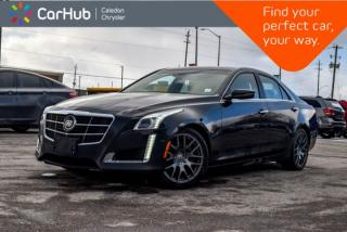Used 2014 Cadillac CTS Sedan Vsport RWD|Navi|Pano Sunroof|Backup Cam|Bluetooth|R-Start|Line Departure|18