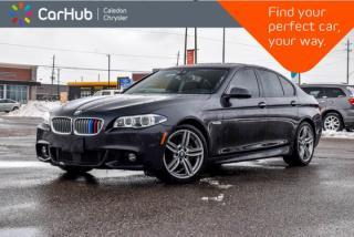 Used 2015 BMW 5 Series 550i xDrive|AWD|Navi|Sunroof|Bluetooth|Backup Cam|Leather|Heated Front Seats|19