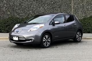 Used 2015 Nissan Leaf SL for sale in Vancouver, BC