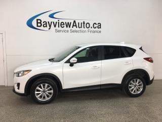 Used 2016 Mazda CX-5 GX - SKYACTIV! PUSH START! NAV! BLUETOOTH! ALLOYS! for sale in Belleville, ON