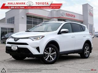 Used 2018 Toyota RAV4 AWD LE for sale in Orangeville, ON