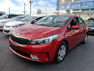 Used 2017 Kia Forte Heated Seats, Automatic, Bluetooth, Low Kms for sale in Vancouver, BC