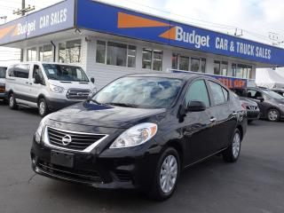 Used 2013 Nissan Versa SV Edition, Bluetooth, Automatic, Super Clean for sale in Vancouver, BC