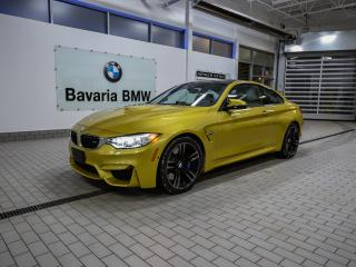 Used 2015 BMW M4 Coupe for sale in Edmonton, AB