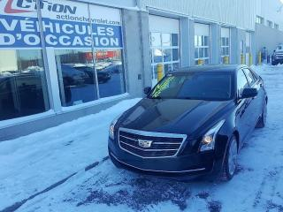 Used 2015 Cadillac ATS Awd, Syst Cue, Cuir for sale in St-Hubert, QC
