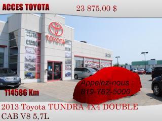 Used 2013 Toyota Tundra for sale in Rouyn-Noranda, QC