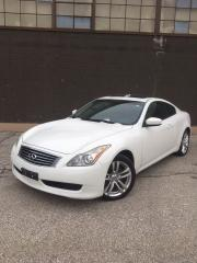 Used 2010 Infiniti G37 AWD - NAVI - REAR CAM - CERTIFIED for sale in Toronto, ON
