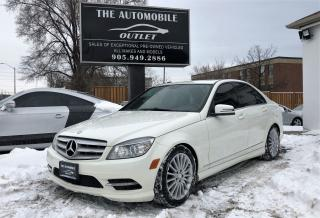 Used 2011 Mercedes-Benz C250 C 250 4MATIC AWD LEATHER SUNROOF NO ACCIDENT for sale in Mississauga, ON