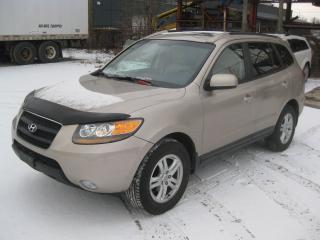 Used 2008 Hyundai Santa Fe GLS LTD, LEATHER SUNROOF for sale in Toronto, ON